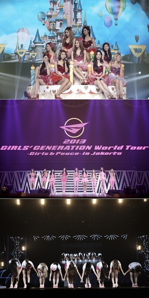 SNSD at MEIS JAKARTA