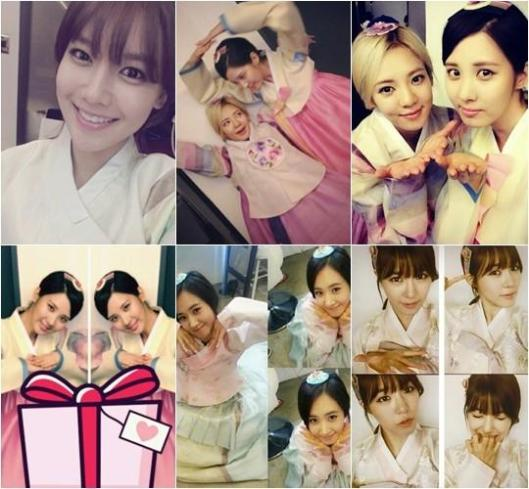 Chuseok day with SNSD