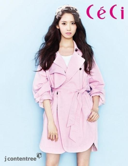 Yoona on CeCi Magazine
