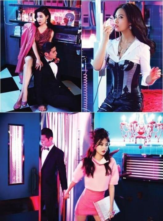 Tiffany, Yuri, Sooyoung