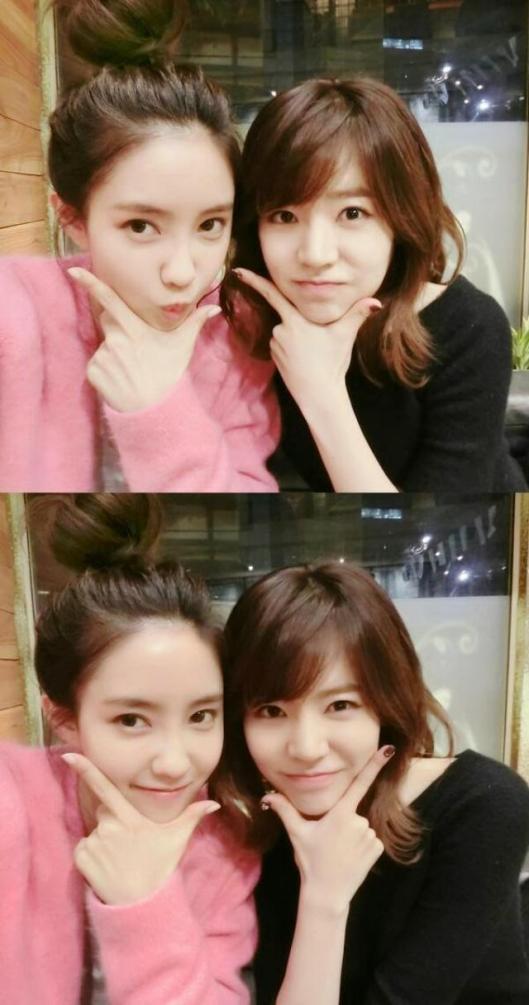 Hyomin & Sunny